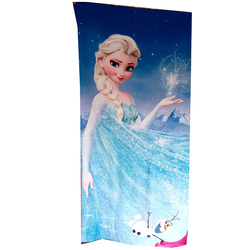 Disney elsa frozen children bath towel baby swimming cute cartoon beach towel elsa Anna cotton round beach towel
