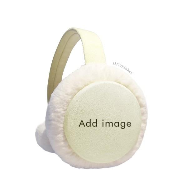 Simplicity Style Chubby Owl Winter Earmuffs Ear Warmers Faux Fur Foldable Plush Outdoor Gift