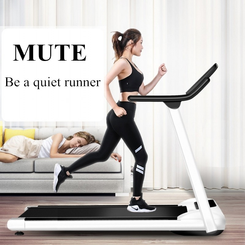 LED Display Folding Electric Treadmill Multifunctional Exercise Equipment Gym Run Mini Folding For House Running Treadmills