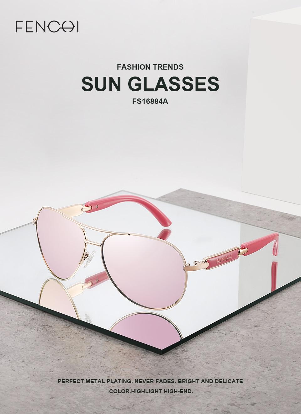 Hfe9aaa99f8ae43c989c9229c1edd2c091 FENCHI Polarized Sunglasses Women Vintage Brand Glasses Driving Pilot Pink Mirror sunglasses Men ladies oculos de sol feminino