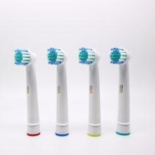 Têtes de brosses de rechange, lot de 4 pièces, accessoire pour brosse à dents électrique Oral Type B à rotation Pro Health/Triumph/Advance Power