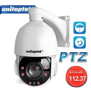 Image 1 - 4 بوصة صغيرة الحجم 1080P 4MP 5MP IP كاميرا متحركة شبكة Onvif 30X التكبير PTZ IP كاميرا CCTV 50 متر الأشعة تحت الحمراء للرؤية الليلية سرعة قبة الكاميرات