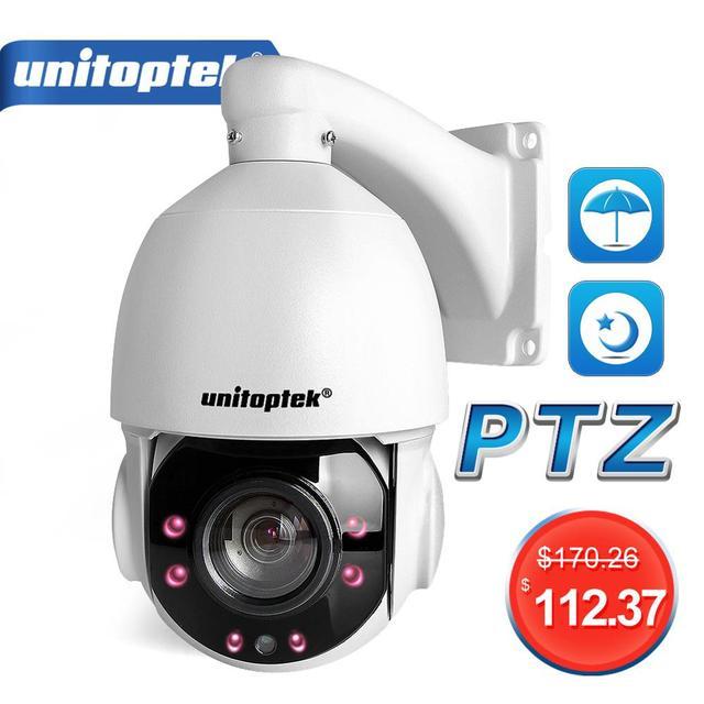 4 بوصة صغيرة الحجم 1080P 4MP 5MP IP كاميرا متحركة شبكة Onvif 30X التكبير PTZ IP كاميرا CCTV 50 متر الأشعة تحت الحمراء للرؤية الليلية سرعة قبة الكاميرات