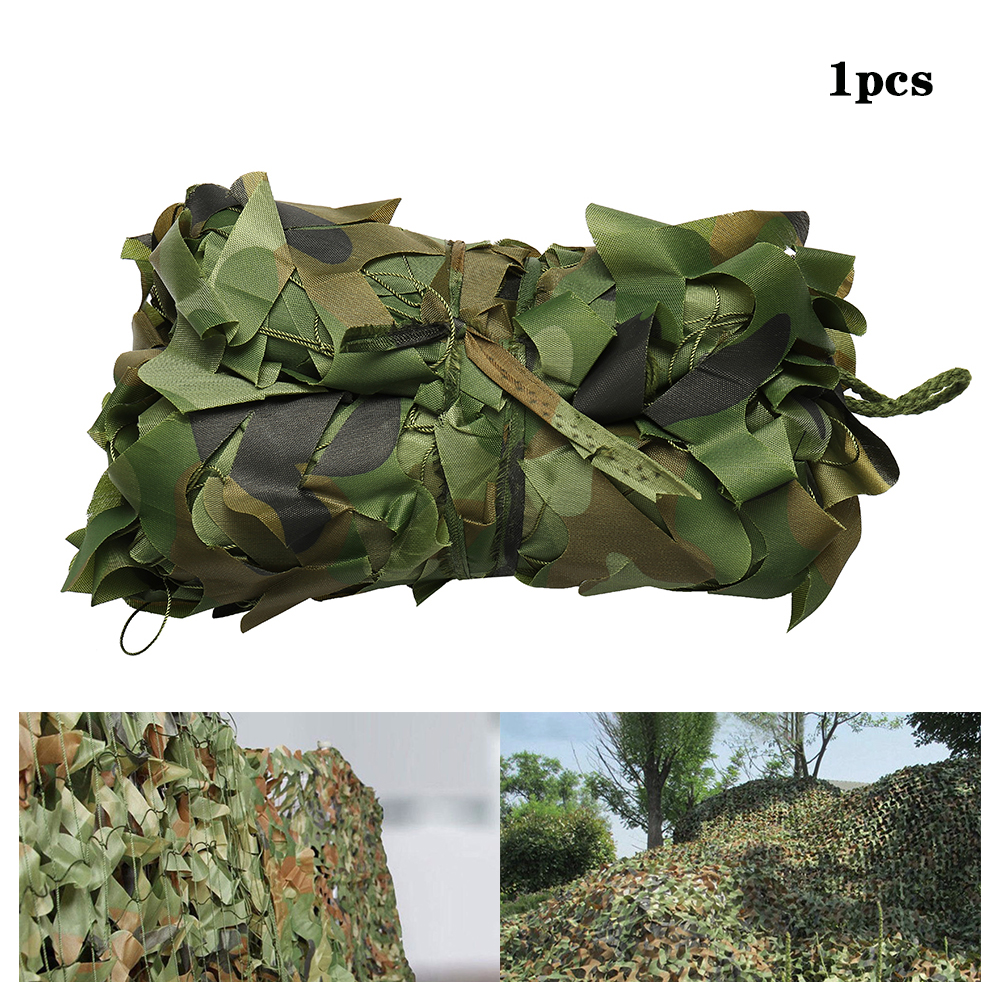 3X5M 1 5X2M Military Camouflage Nets Outdoor Awnings Army Camo Camping Car Tent Cover Sun Shelter Shade Hunting Shooting Tent in Sun Shelter from Sports Entertainment