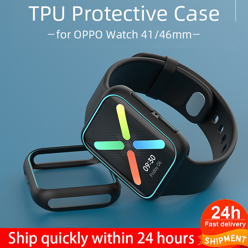 Protective-Case Watch OPPO Cover Bumper 46mm-Accessories 41mm TPU Soft for 41/46mm Lightweight