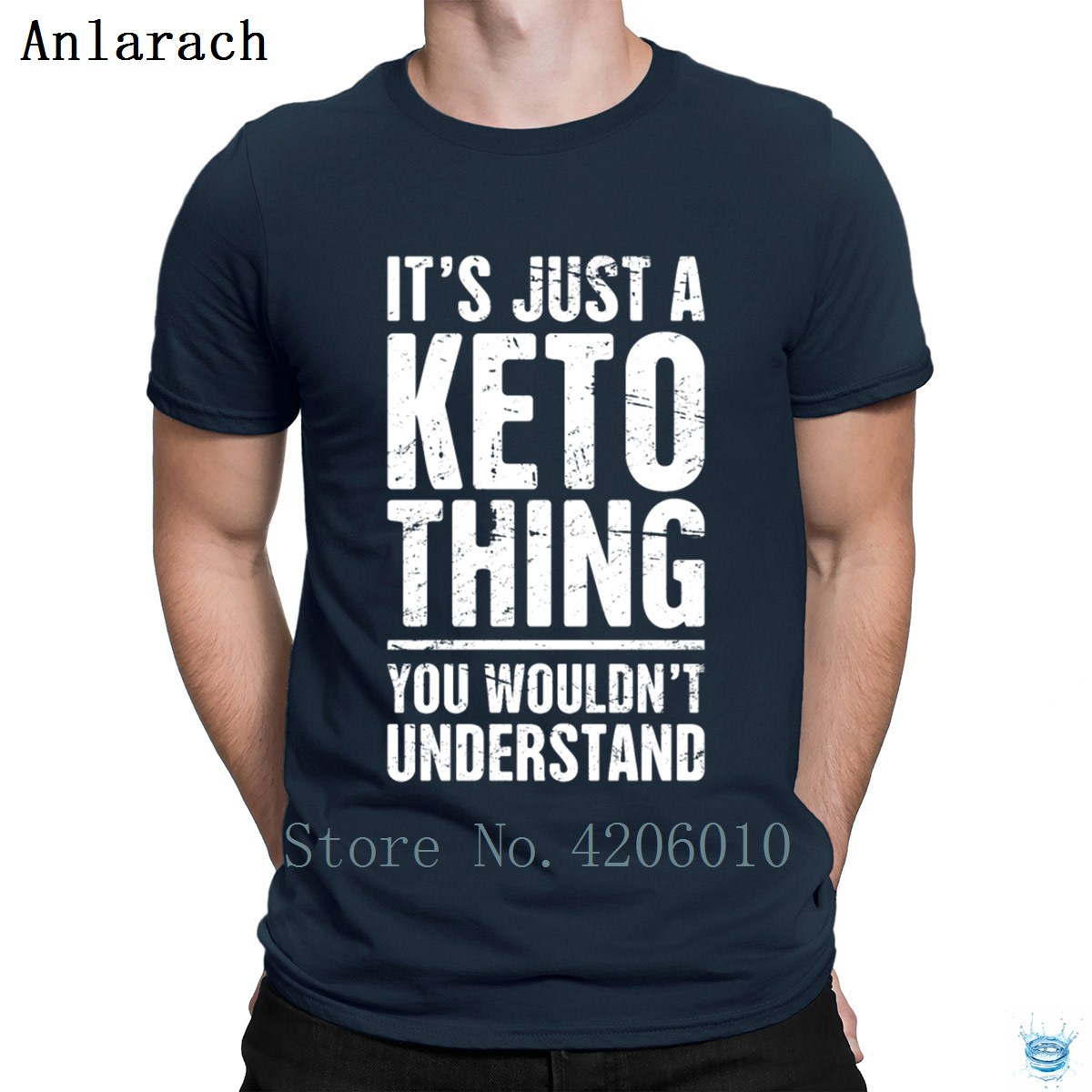 It's Just A Keto Thing Tshirt Basic Customize High Quality Fitted Men's Tshirt Sunlight Letters Plus Size 3xl Tee Top