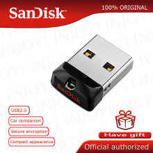 Vara da memória 16 gb 8 gb 4 gb pendrive da movimentação 32 gb da pena de cz33 do ajuste do cruzer 64 gb usb 2.0 da movimentação flash super original de sandisk mini usb(China)