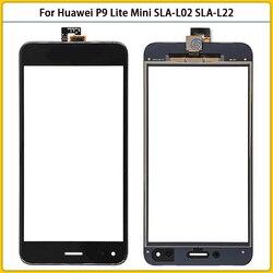 Новый P9lite мини сенсорного экрана для Huawei P9 Lite Mini SLA-L02 SLA-L22 SLA-TL00 сенсорный экран Сенсорная панель дигитайзер датчик переднего ЖК-стекло