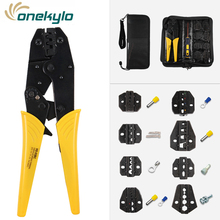HS series hand crimping toolratchet tool cable portable multi function folding pocket plier +jaw hs nippers