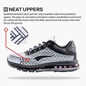 Image 5 - ONEMIX кожаные беговые кроссовки для мужчин, тренды, атлетические кроссовки для прогулок на открытом воздухе, кроссовки на воздушной подушке, спортивные беговые треккинговые кроссовки