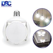 LED הנורה E27 40W כדורגל UFO מנורת 360 מעלות מתקפל הנורה AC 85 265V 110V 220V Lampada LED זרקור אור קר/חם לבן