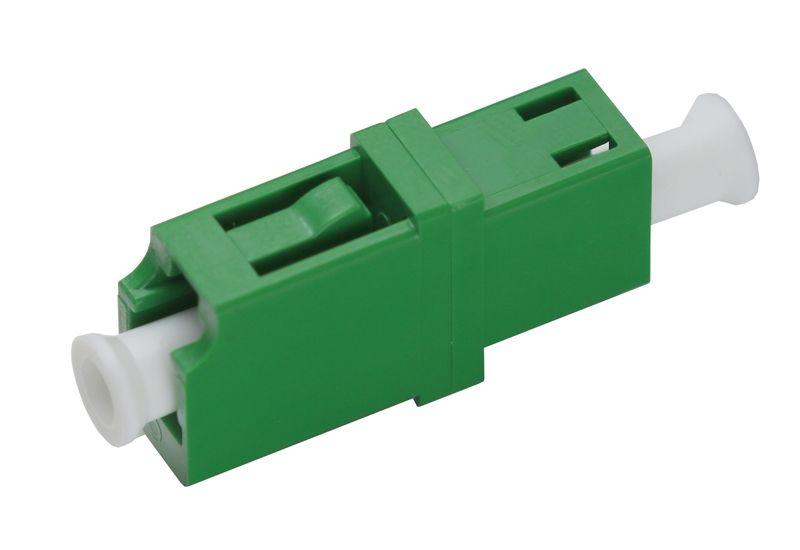 Бесплатная доставка 50 шт. FTTH LC/APC SM симплексный волоконно-оптический разъем оптоволоконный адаптер