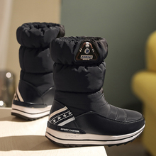 купить Women boots 2019 winter shoes non-slip waterproof warm platform snow boots women winter boots high quality bota feminina дешево