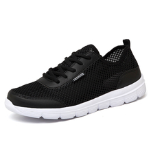 Men Shoes Summer Mesh Casual Men's Shoes Lightweight Breathable Sports Flat Shoes for Men Fashion Lovers Sneakers Plus Size men shoes 2017 lovers summer fashion breathable men casual shoes lace up high quality flat mesh shoes plus size 35 44