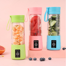 Mini USB Charging a Variety of Colors Available Blender Mixer Portable Orange Juicer Single Auger Juicer