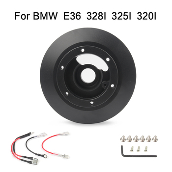 gogo Short Boss Kit Hub Adapter Steering Wheel Hub Kit For BMW E36 328I 325I 320I 323I image