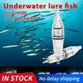 Глубокая капля Рыбалка свет многоцветный Подводный рыбы индикатор привлечения приманки LED Рыбалка вспышка приманка Прямая поставка