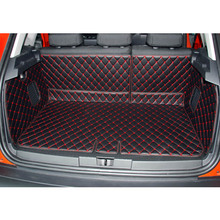 lsrtw2017 for renault captur leather car trunk mat cargo liner 2014 2015 2016 2017 2018 2019  Kaptur Samsung QM3 luggage carpet автокресло siger бустер синий 6 12 лет 22 36 кг группа 3