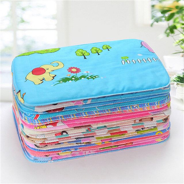 1Pcs Baby Infant Nappy Urine Mat Kid Waterproof Bedding Changing Diaper Cover Pad High Quality