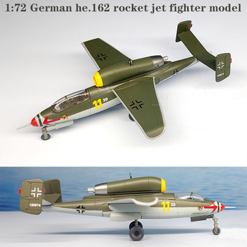 1:72 German he.162 rocket fighter model 11# Finished product collection model 36347 image