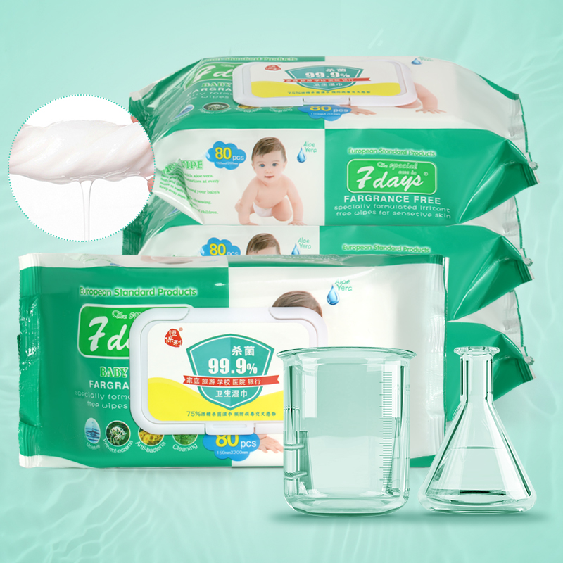 Disinfect Wipes 75% Alcohol Disinfect Wet Wipes Paper 80 Pieces Of Protective Wipes FULL ENGLISH NewB