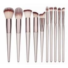 2019 Makeup Brushes Wooden Foundation Cosmetic Eyebrow Eyeshadow Brush Sets Tools maquillaje brochas