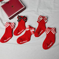 2021 новые весенние носки для новорожденных, детей, носки с бантиками на осень для маленьких девочек носки для детей ясельного возраста, не ск...