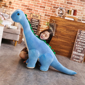32-100cm Colorful Giant Dinosaur Plush Toys Stuffed Plush Tanystropheus Dolls Children Kids Gifts Birthday Christmas Brinqedos