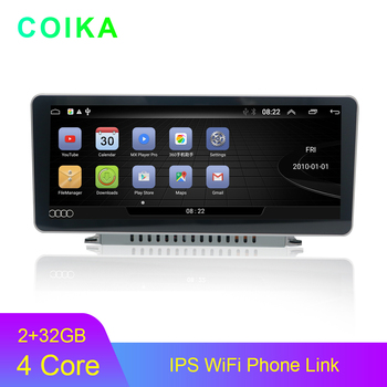 "COIKA 10.25"" Android 9.0 System Car GPS Navi Player For Audi Q5L 2017-2019 IPS Touch Screen 2+32G RAM WIFI Google SWC BT Stereo"