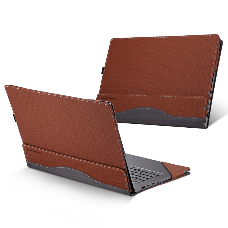 Case For <font><b>Hp</b></font> Spectre <font><b>X360</b></font> <font><b>Convertible</b></font> 13-AD100TU Laptop Sleeve For <font><b>HP</b></font> <font><b>ENVY</b></font> 13-AH0000 13.3 Inch PU Leather Protective Cover Gifts image