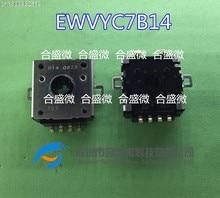 2 шт./поворотный реостат потенциометра EWVYC7B14 EWV-YC7B14 угол роторного кодирования переключатель
