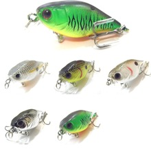 WLure 4,3 г 3,5 см крошечный легкий медленно плавающий широкий размер 10 крючков кренкбейт приманка для рыбалки маленького размера C703