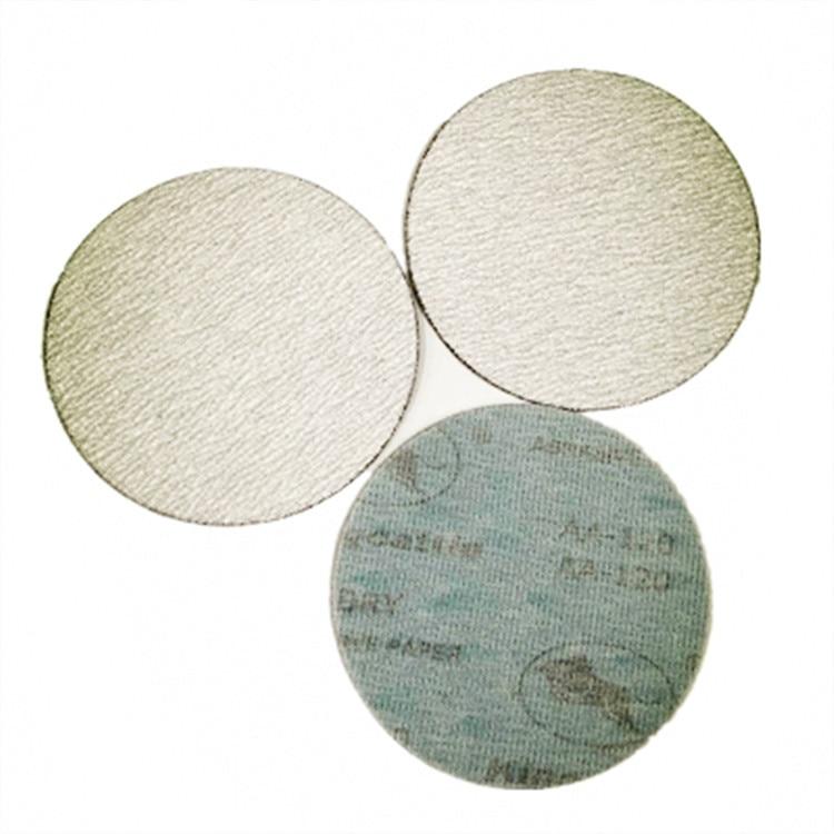 Taurus 5-Inch 125 Cashmere Sand Paper \N  Furniture Primer Polishing Disc Sandpaper Aluminium Alloy Polishing Dry Grinding Floc