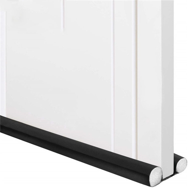 Rapture 1ps Stopper Dust Flexible Door Noise Bottom Draft Reduction Sound Weatherstrip Window Sealing Blocker 93cm Strip Proof Sealer