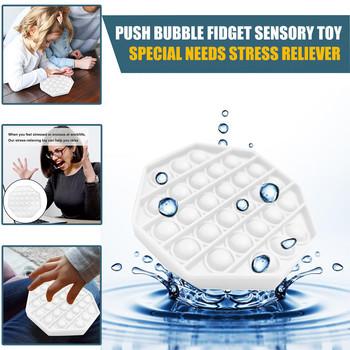 Push Bubble Fidget zabawka sensoryczna autyzm specjalne potrzeby Stress Reliever Push Bubble Fidget zabawka sensoryczna autyzm specjalne potrzeby stres tanie i dobre opinie CN (pochodzenie) Chiny certyfikat (3C) Urodzenia ~ 24 Miesięcy 2-4 lat 5-7 lat Dorośli Zwierzęta i Natura Relax Pressure Toys