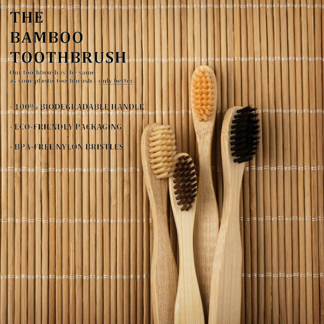 10pcs Environmental Bamboo Kids Toothbrush Soft Bristle Healthy Dental Oral Care Toothbrush 5