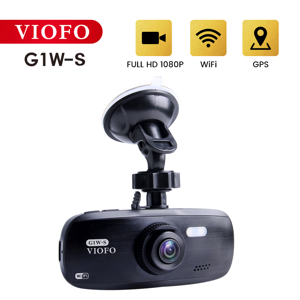 Car Camera Video Recorder Car DVR Wifi Dash Cam APP Control GPS DVRS Registrar with G-sensor Auto Recorder 1080P HD