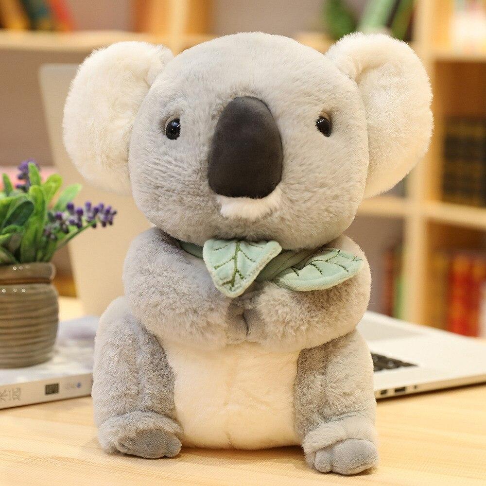 New Arrived Koala Bear Soft Stuffed Toy  Koala Bear Plush Toy Kid's Gift New Birthday Gift Factory Supply 30cm 40cm 50cm