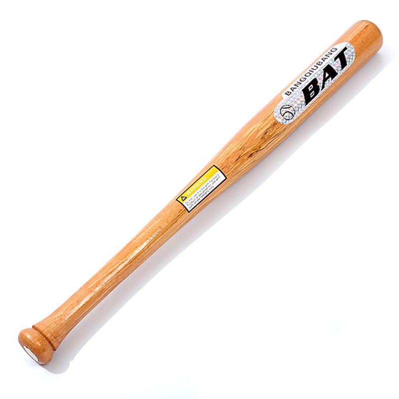 Solid Wood Baseball Bat Professional Hardwood Baseball Stick Outdoor Sports Self-defense Weapon Bat Bit Softball Bats