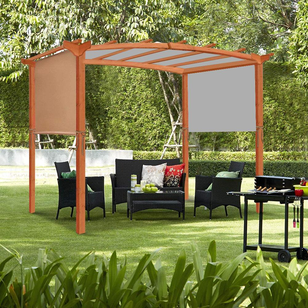 Hot 5.2*2m Awning Sun Shade Canopys Cover Sturdy Durable Replacement Awning for Pergola Structures Cover Only No Shelves D6