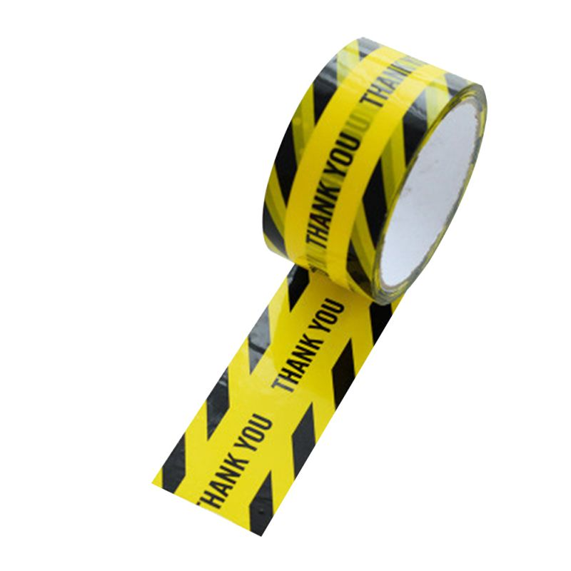 KK 1 Roll 48mm*25m Warning Tape Safety Adhesive Barricade Wet Floor Caution Tape!