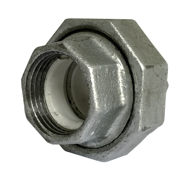 Lining Plastic Pipe Fitting/Lined Union DN15 25 50/Galvanized Union Lined 1-Inch/Steel-Plastic Pipe Fitting Union