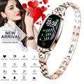 Смарт-часы женские водонепроницаемые часы мониторинг сердечного ритма Bluetooth для Android IOS Фитнес браслет девушка леди Smartwatch