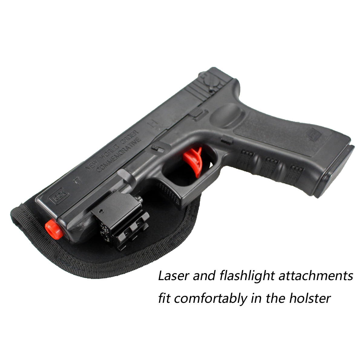 Image 2 - Tactical Concealed Carry Universal Neoprene IWB Holster with Extra Mag Holster for Right Hand-in Holsters from Sports & Entertainment