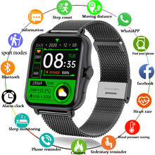 LIGE Men Smart Watch 1.69Inch Sport Pedometer Smartwatch Men Women Heart Rate Monitor Bluetooth Call ECG Watches For IOS Android