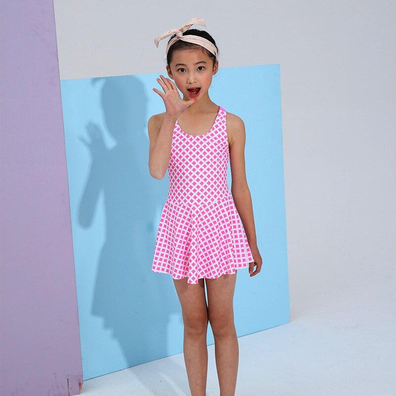 KID'S Swimwear GIRL'S Dress-GIRL'S Swimsuit Female Baby South Korea Big Boy Princess Bubble Hot Spring Tour Bathing Suit