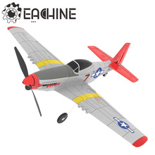 Eachine Mini P-51D EPP 400mm Wingspan 2.4G 6-Axis Remote Control RC Airplane Trainer Fixed Wing RTF One Key Return for Beginner