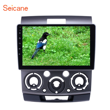 Seicane 9 inch Android 8.1 car GPS Radio for 2006 2007 2008 2009 2010 Ford Everest/Ranger Mazda BT-50 support Carplay TPMS image