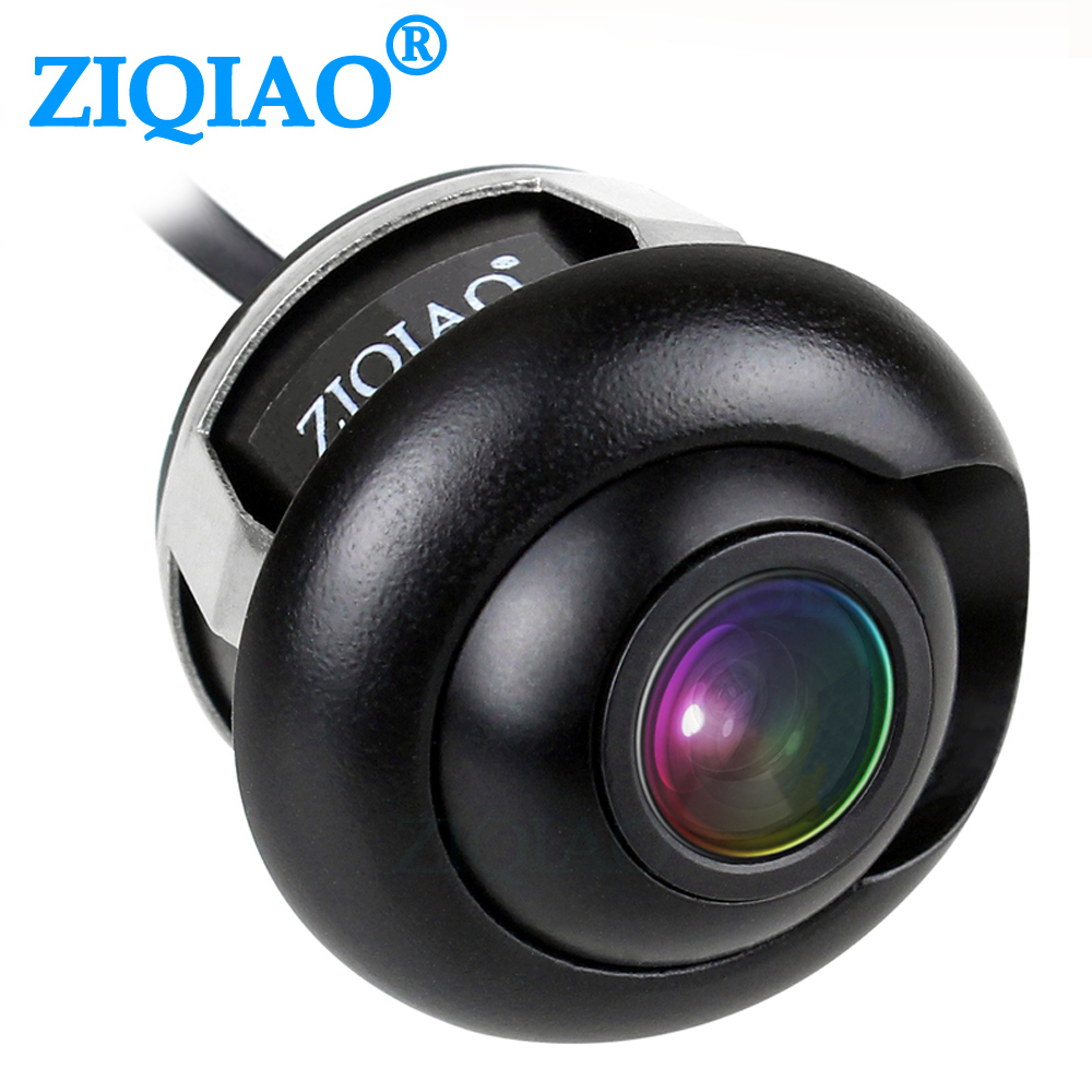 ZIQIAO CCD Car Front Rear View Parking Camera Night Vision HD Side View Reversing Camera HSB012