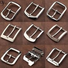 4.0cm fibbia della cintura in acciaio inossidabile fibbia della cintura nuovo tempo libero di alta qualità 304 fibbia ad ago antiallergico accessori fibbia della cintura